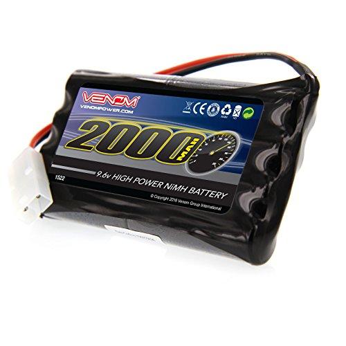 VENOM 9.6V 2000mAh 8-Cell NiMH Battery for Nikko, Megatec...
