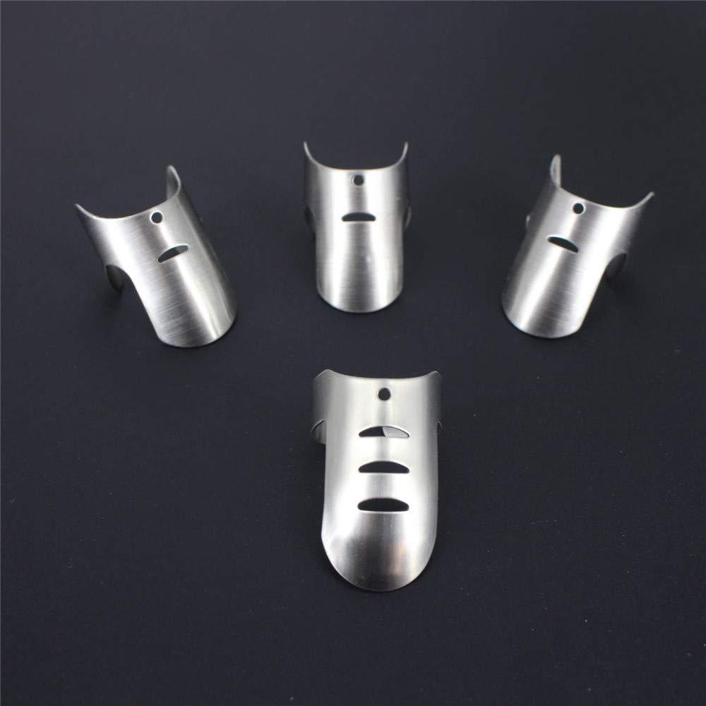 4pcs//set regolabile in acciaio INOX finger Hand Guard finger Protector coltello fetta Chop Safe slice strumento di cottura