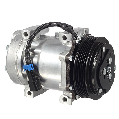 Mophorn CO 4815C Universal Air Conditioner AC Compressor and Clutch 3547916C1 for International Navistar Sanden 98598 4481 4815