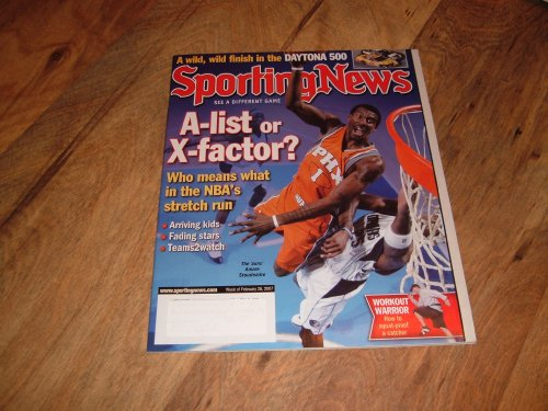 Sporting News, February 26, 2007-Amare Stoudemire-Phoenix - Nba Stoudemire Amare