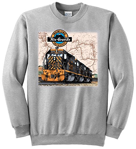 Rio Grande Tunnel Motors Authentic Railroad Sweatshirt Adult XL [10027]