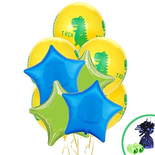 BirthdayExpress T-Rex Dinosaur Party Supplies - Balloon Bouquet