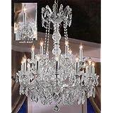 "Maria Theresa Crystal Chandelier W/ Swarovski Crystal Chandeliers Lighting 30""X28"""