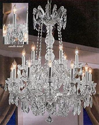 Maria Theresa Crystal Chandelier Chandeliers Lighting 30 X28