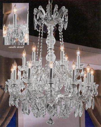 (Maria Theresa Crystal Chandelier Chandeliers Lighting 30