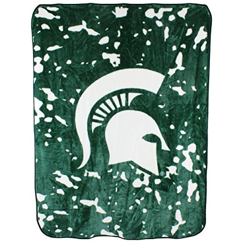 College Covers Michigan State Spartans Throw Blanket/Bedspread -