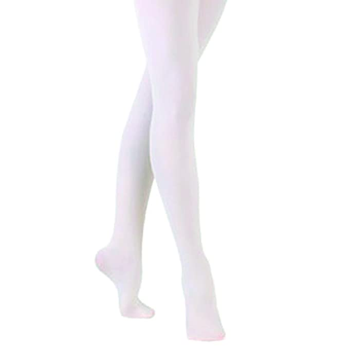 de7db3852bb68 Sock Snob - 1 Pair of Luxury Girls and Adult footed Ballet Tights, Pink or  White: Amazon.co.uk: Clothing
