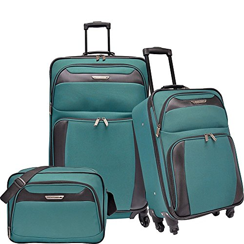 travelers-choice-richmond-3-piece-spinner-luggage-set-teal