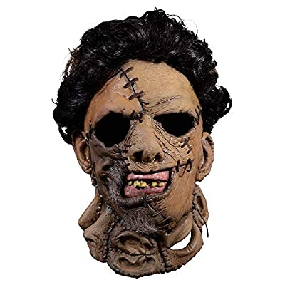 Gatton Halloween Costume Party Adult Leatherface Mask - The Texas Chainsaw Massacre 2