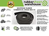 """Rubber Sheet Warehouse .062"""" (1/16"""") Thick x"""