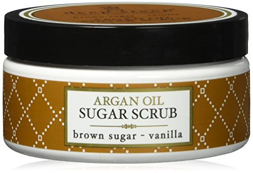 Deep Steep Argan Oil Sugar Scrub, Brown Sugar Vanilla, 8 Ounce