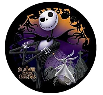 Nightmare Before Christmas Birthday Party Ideas.Nightmare Before Christmas Edible Image Photo Sugar Frosting Icing Cake Topper Sheet