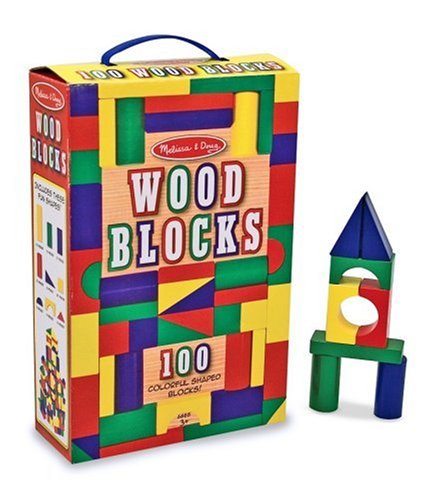100 Blocks, 4 Colors and 9 Shapes