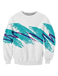 Unisex 3D Digital Printed Casual Sports Crewneck Sweatshirt Various Design