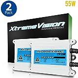 XtremeVision AC 55W HID Xenon Premium Slim Ballast (Pair - 2 PCS)