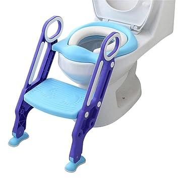 Töpfchentrainer Kinder Töpfchen Kinder-Toilettensitz Baby Trainer Sitz Faltbar
