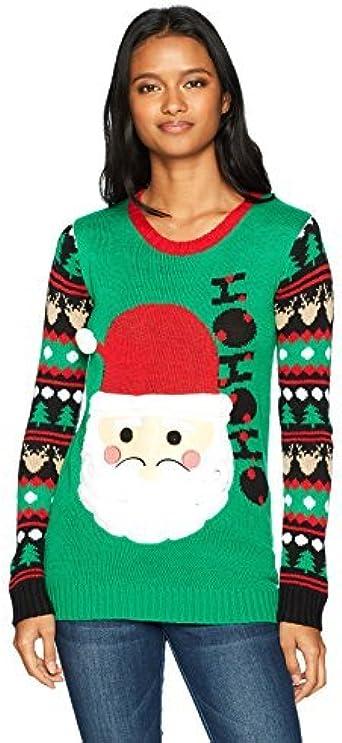 Derek Heart Ugly Sweater Reindeer Fair Isle Christmas
