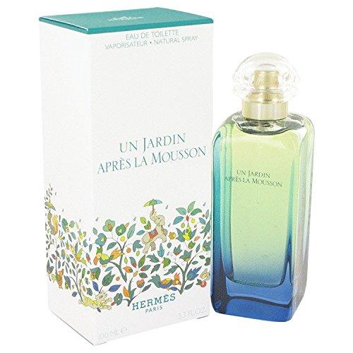 UN JARDIN APRES LA MOUSSON by Hermes MEN AND WOMEN'S EDT SPRAY 3.4 OZ
