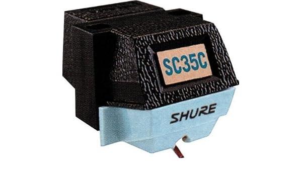 Shure DSH SC35C - Cartucho monoaural de tocadiscos con imán móvil ...