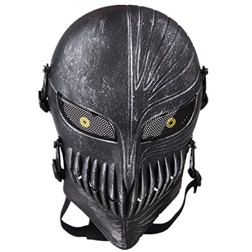 Tech-p Death Skull Face Mask - Protective Mask