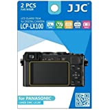 JJC LCP-LX100 Ultra Hard Polycarbonate LCD Film Screen Protector for Panasonic (Clear)