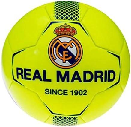 Real Madrid – de balón de fútbol de pequeño amarillo neón Real ...