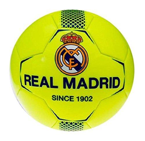 Real Madrid - de balón de fútbol de pequeño amarillo neón Real ...