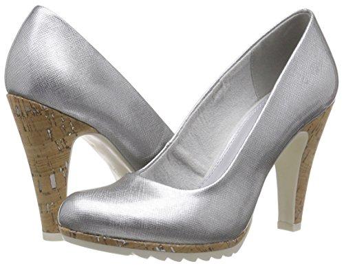 Marco quartz 201 Mujer Zapatos Cerrada Para Con 22401 Tozzi Tacón De Grau Punta 7Crw7HqxP