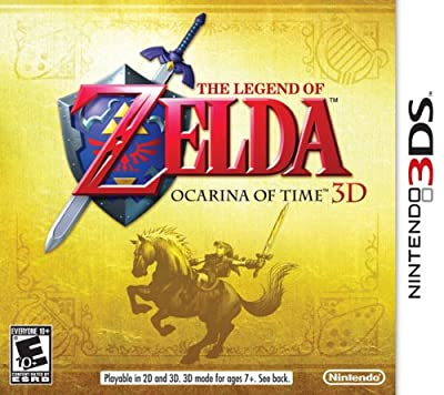 The Legend Of Zelda Ocarina Of Time 3d from Nintendo