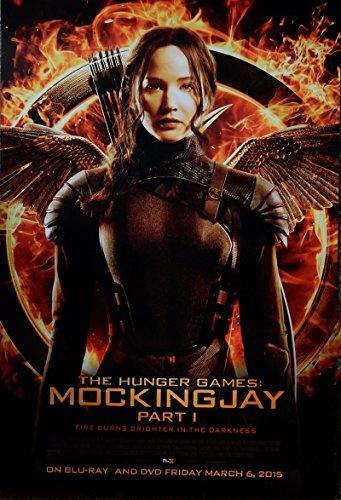 The Hunger Games:Mockingjay Part 1 Original Home Release Promo Poster Jennifer Lawrence Katniss 13x19.5 (Not a Reprint)