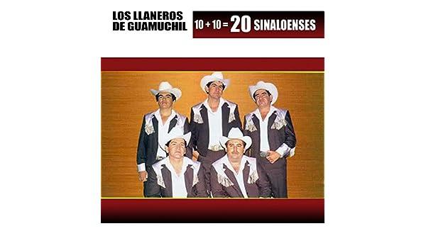 10+10=20 Sinaloenses by Los Llaneros De Guamuchil on Amazon Music - Amazon.com