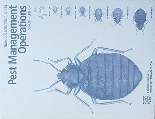 truman s scientific guide to pest management operations 7th edition rh amazon com truman's scientific guide to pest management operations 8th edition truman's scientific guide to pest management operations 6th edition