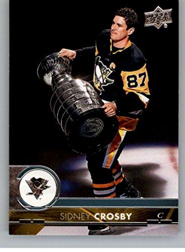Sidney Crosby Card (2017-18 Upper Deck Series 2 #391 Sidney Crosby Pittsburgh Penguins Hockey Card)