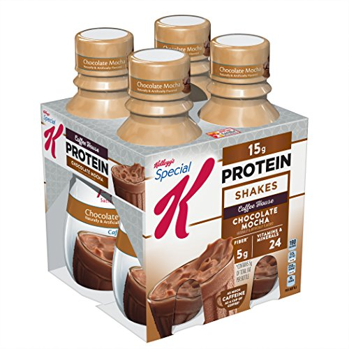 Kellogg's Special K Protein Chocolate Mocha Shakes, 10 fl oz, 4 pack