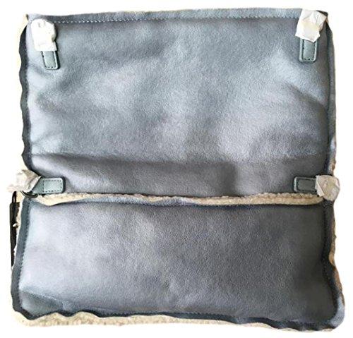 Fritzi aus Preußen Damen Ronja Yuko Business Tasche, 3x15x29 cm Blau (Ice)