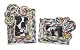 Best CC Home Furnishings Photo Frames - CC Home Furnishings Set of 2 Whimsical Recycled Review