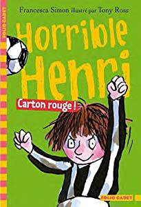 "Afficher ""Horrible Henri n° 8 Carton rouge !"""