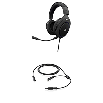 Amazon com: CORSAIR HS50-Stereo Gaming Headset-Discord