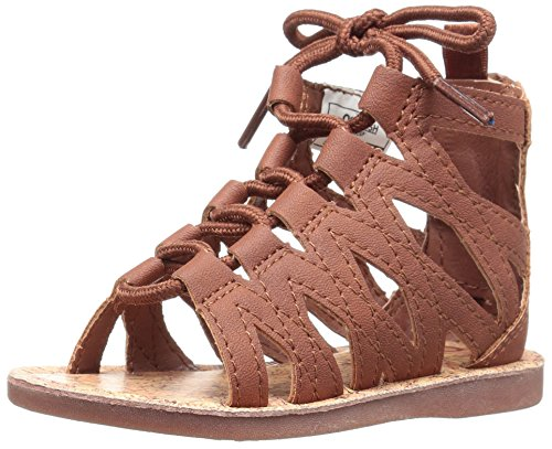 Brown OshKosh B'Gosh Priya Girl's Gladiator Sandal