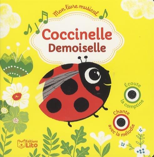 Mon Livre Musical Coccinelle Demoiselle Des 18 Mois