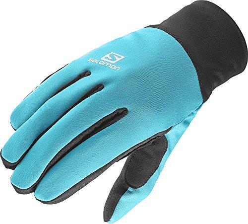 Salomon Women's Equip Gloves, Blue Bird, Large (Salomon Ski Gloves)