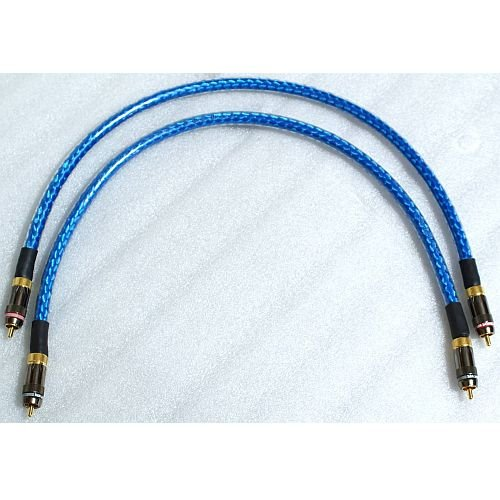 Straightwire Rhapsody S Audio Cables 1.0 Meter RCA Pair by Straightwire