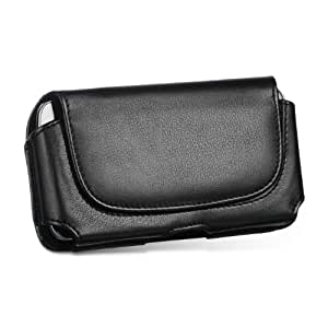 Leather Belt Clip Case Pouch for Apple iPhone 5S 5 5C FITS WITH LIFEPROOF WATERPROOF CASE ON IT (by All_instore)