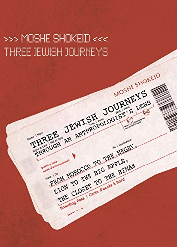 Three Jewish Journeys Through an Anthropologist's Lens: From Morocco to the Negev, Zion to the Big Apple, the Closet to the Bimah (Judaism and Jewish Life) by Brand: Academic Studies Press