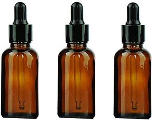 1oz (30ml) ámbar redondo botellas de vidrio para aceites ...