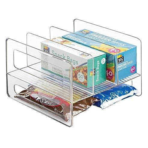 Küchen Aufbewahrungsbehälter mdesign küchen organizer durchsichtig die wandelbare sortierbox