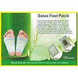 LOT X 100 patchs - DETOX FOOT PATCH - ELIMINE LES TOXINES DU CORPS Black Forest Spa®