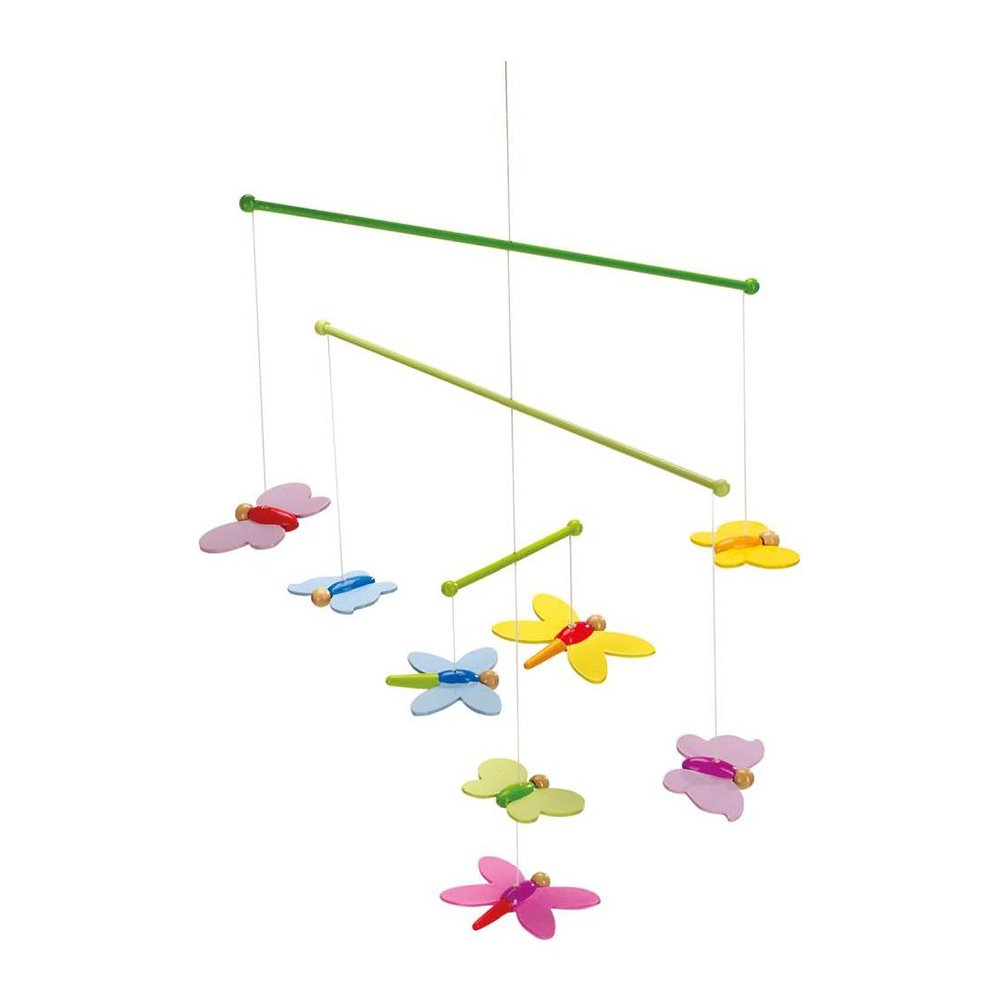 Goki Mobile Butterflies Baby Toy