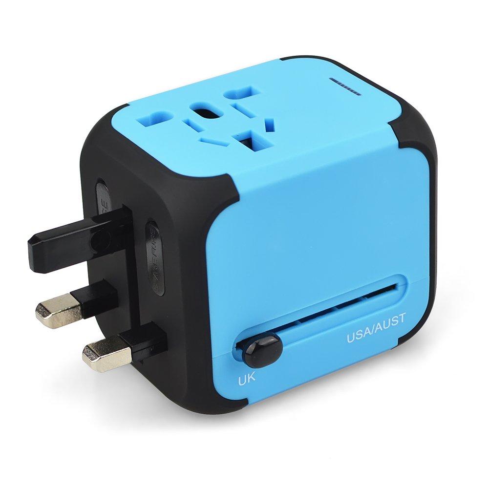 Viaggio Adattatore tripolare 150Paesi con USB Shenzhen OULI Technology Co. Ltd