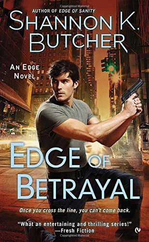 book cover of Edge of Betrayal